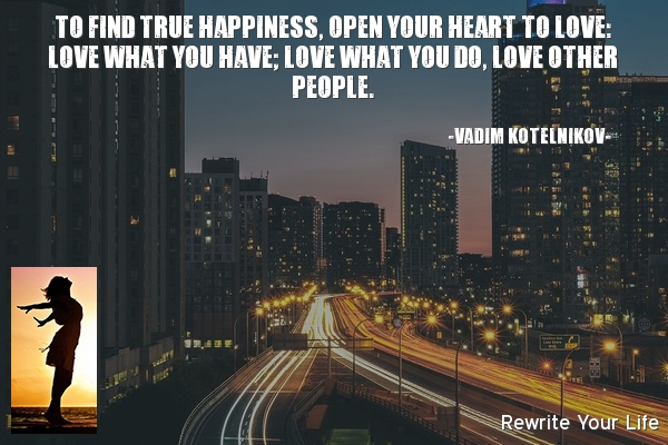 Open heart to Love